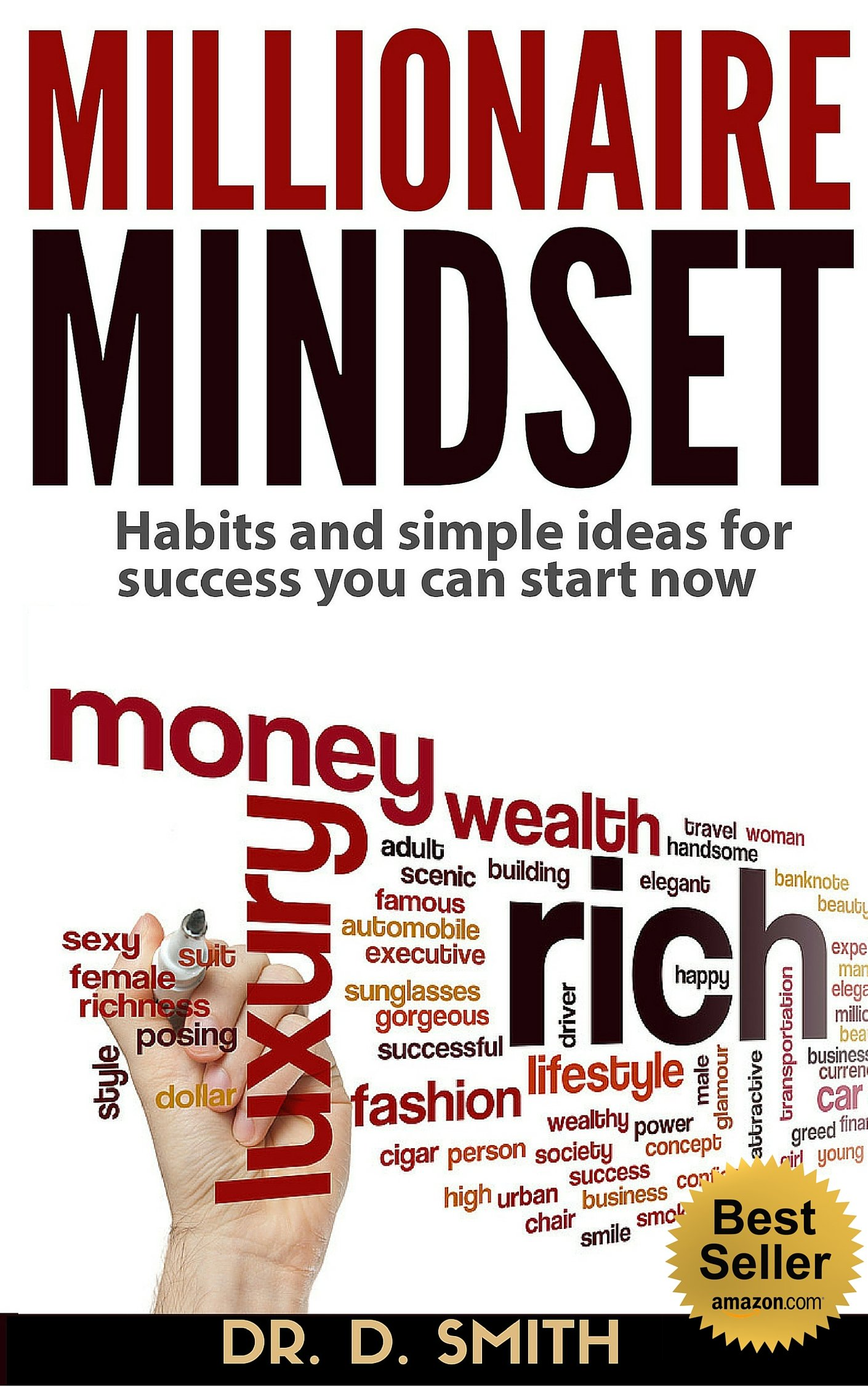 MILLIONAIRE MINDSET: HABITS AND SIMPLE IDEAS FOR SUCCESS YOU CAN START NOW: EASY PROVEN METHODS TO ROCKET YOU INTO WEALTH FASTER (REVISED)