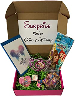 KKC Deluxe Surprise Princess Vacation Gift for Girls with Park Accessories Including Crown and Autograph Book