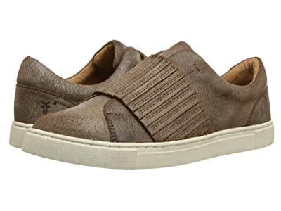Frye Ivy Gore Slip-On (Chocolate Waxed Vinage Suede) Women