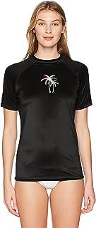 قميص حريمي من Kanu Surf مزود بعامل حماية من أشعة الشمس 50+ بأكمام قصيرة Active Rashguard للتدريب