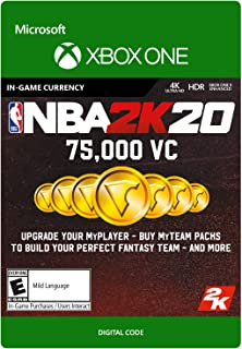 NBA 2K20: 75,000 VC 75,000 VC - [Xbox One Digital Code]