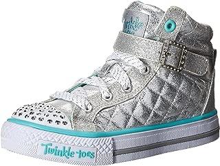 Skechers Kids Twinkle Toes Heart and Sole Light Up Sneaker (Little Kid/Big Kid/Toddler)