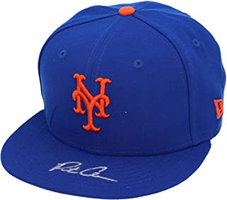Pete Alonso New York Mets Autographed New Era Cap - Fanatics Authentic Certified - Autographed Hats