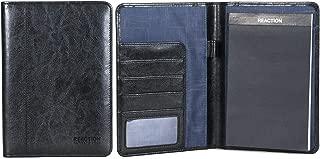 Kenneth Cole Reaction Faux Leather Bi-Fold Business Writing Pad, Presentation Folder, School Binder, Document Folder, And Professional Organizer For Men & Women