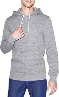 Men's Peppered Fleece Long Sleeve Pullover Hoodie