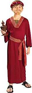 Forum Novelties Biblical Times Burgundy Wiseman Child Costume, Small