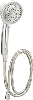 Moen 26015 Caldwell Hand Held Shower Head Set Multi Function 2.5 GPM Spray with Hose, Chrome