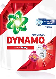 DYNAMO Power Gel Laundry Detergent Refill, Freshness of Downy, 3kg