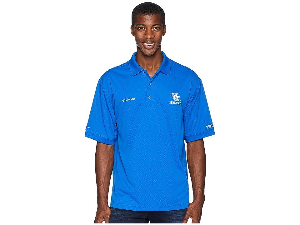 Columbia Collegiate Perfect Casttm Polo Top (Kentucky/Azul) Men