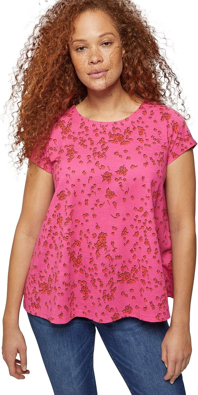 ellos Women's Plus Size Trapeze Knit Tee T-Shirt