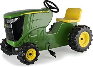 TOMY John Deere Tractor de Pedales Verde   Tractor de Juguete con Pedal   Diversión al Aire última intervensión para niños y niñas   Inspira el Juego Creativo con Este Juguete de Granja