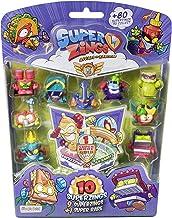 Superzings - Serie 5 - Blister 10 figuras ( 1 figura dorada Super Rare) (figuras pueden variar)