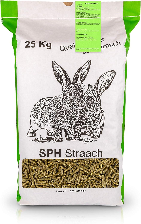 SPH Futter für Kaninchen und Nager 8kg Sack   universelles Futter aus  regionaler Produktion
