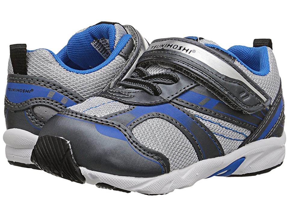 Tsukihoshi Kids Sport (Toddler) (Graphite/Royal) Boys Shoes