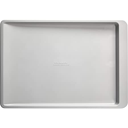 13x18-Inch KitchenAid Nonstick Cookie Slider Silver