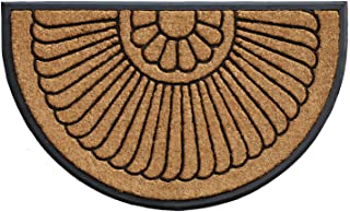 "Shell Coir and Rubber Heavy-Duty 24"" X 36"" Over-Sized Doormat"