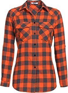 Best orange and white flannel Reviews