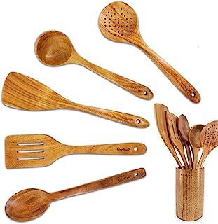 Acacia Wooden Utensil set 6 pieces