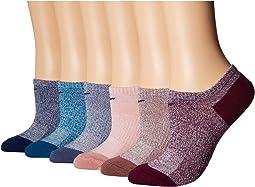 Performance Lightweight Mesh No Show Training Socks 6-Pair Pack