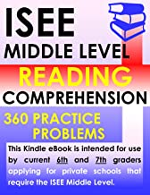 ISEE Middle Level Reading Comprehension – 360 Practice Problems