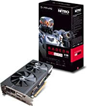 Sapphire Radeon Nitro Rx 470 8GB GDDR5 Dual HDMI / DVI-D / Dual DP OC (UEFI) PCI-E Graphics Card 11256-17-20G
