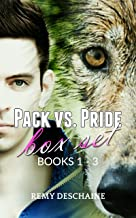 Pack vs. Pride Box Set 1 - 3 (First Time Gay Shifter Erotic Romance): Paranormal Omegaverse Mpreg Male Pregnancy M/M Erotica