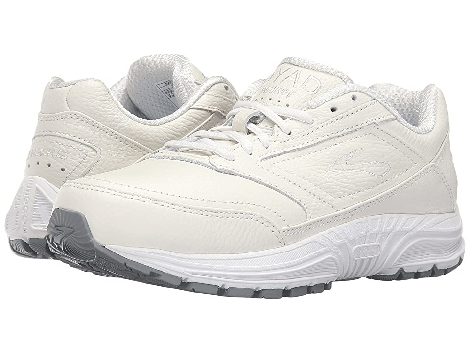 Brooks Dyad Walker (White) Women