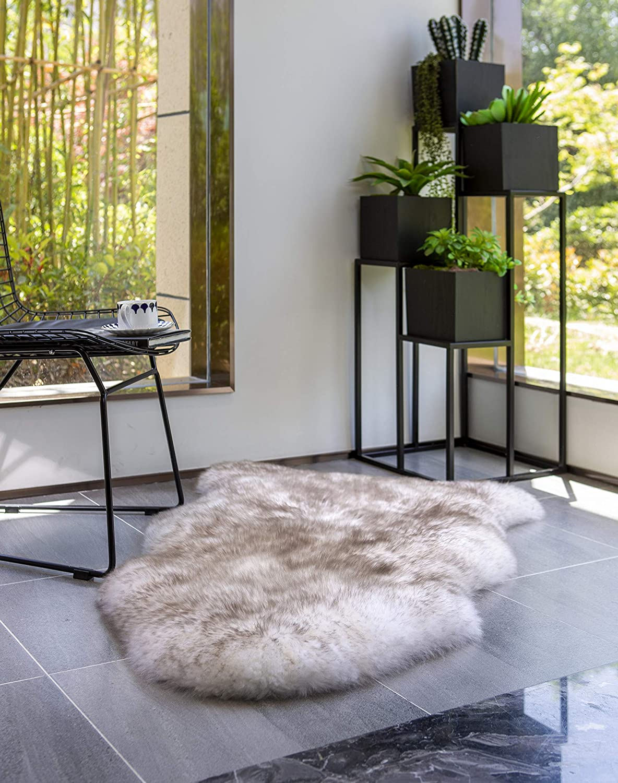 WaySoft Popular Limited Special Price product Genuine New Zealand Sheepskin Rug B for Luxuxry Fur