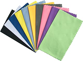 ColorYourLife 10-Pack Microfiber Cleaning Cloths for Smart phones, Laptops, Tablets, Lenses, LCD Monitor, TV, Camera, Glas...