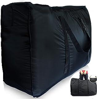 Plago Nylon Huge-Capacity Travel Duffel Bag Waterproof Luggage Sport Blanket Storage VariousPurposes 4Sizes (XXXL(262-Liter))