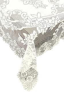 Ritz Linen Lace Tablecloth, 53 x 73, Ivory