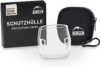 Borgen Displaybescherming - geschikt voor Bosch Intuvia beschermhoes - Accessoires voor e-bike display - 100% transparant,...