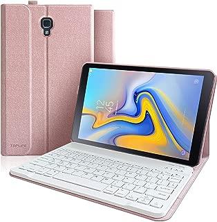 Keyboard Case for Samsung Galaxy Tab A 10.5, Detachable Wireless Bluetooth Keyboard, Protective Case for 2018 Tab A  SM-T590/T595/T597 Model, Samsung Galaxy 10.5 Case with Keyboard-Champagne