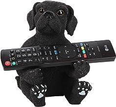 Trenton Gifts Decorative Dog Remote Control Holder, Black Lab TV Controller Tray
