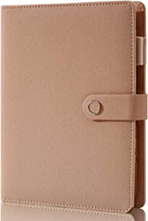$28 » Spiral Leather Journal Writing Notebook, 6 Ring Binder Refillable Diary Notepads, Vintage Business Planner Personal Organi...