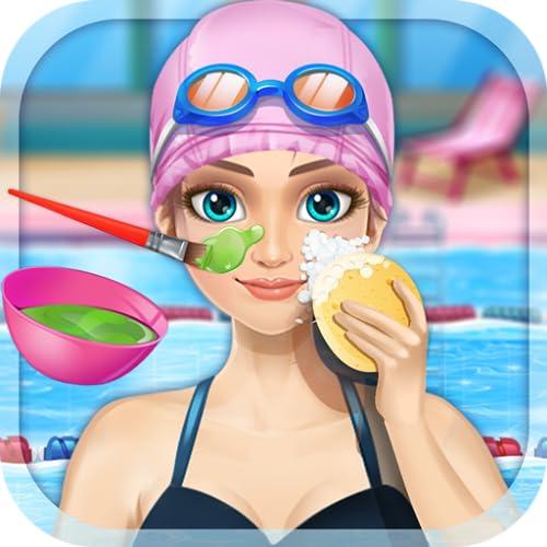 Princess Swimming & Spa - Girls Beauty Game FREE