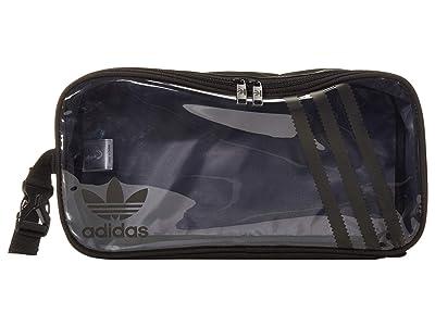 adidas Originals Originals Clear 3-Stripes Shoe Bag (Black/Clear) Bags