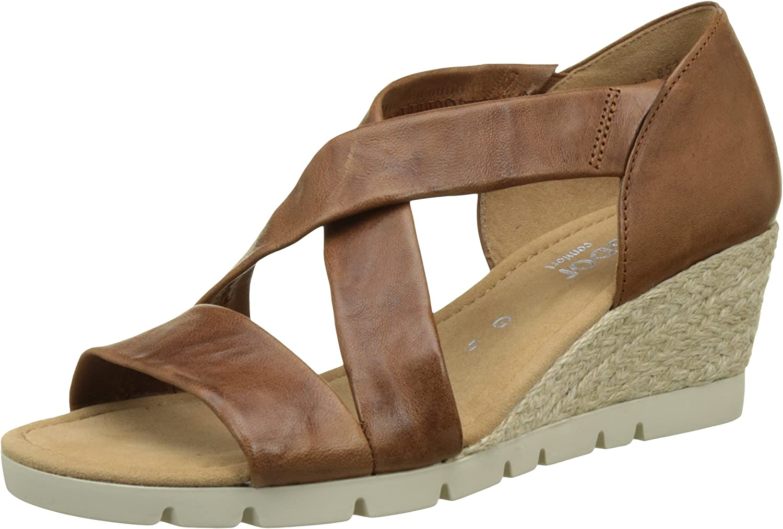 Gabor Lisette 853 - Peanut 54 (Brown) Womens Sandals