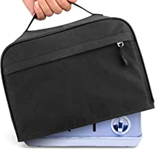 4 Slices Toaster Cover, Toaster Dust&Fingerprint Protection Cover With Zipper & Open Pockets Toaster Protection Cover Kitc...