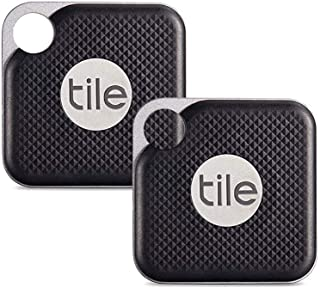 $54 » Tile Inc, Pro Black, Bluetooth Tracker and Finder, Water Resistant, Replaceable Battery, Easy to Attach for Keys, Pet Coll...