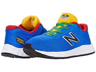 New Balance Kids Fresh Foam Arishi v2 Bungee (Infant/Toddler) (Cobalt/Team Red) Boy