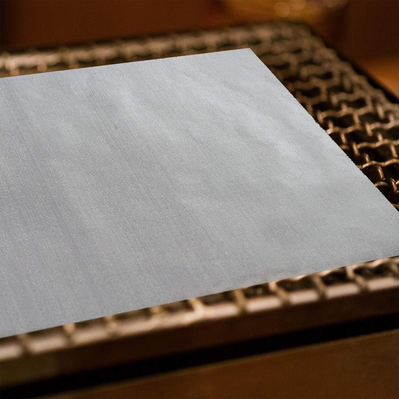 OZ6YA Barbecue Grill MatTeflon antiadhésif Grill Protection Pad Haute température résistant tailleNon Stick Cuisson Maille pour Intérieur Gaz ou Électrique Grill 330*400*0.2mm