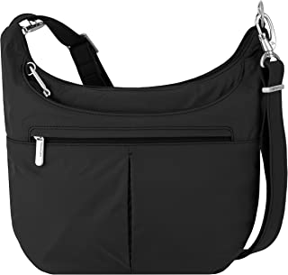 Travelon Anti-Theft Classic Slouch Hobo, Black (Black) - 42857 500