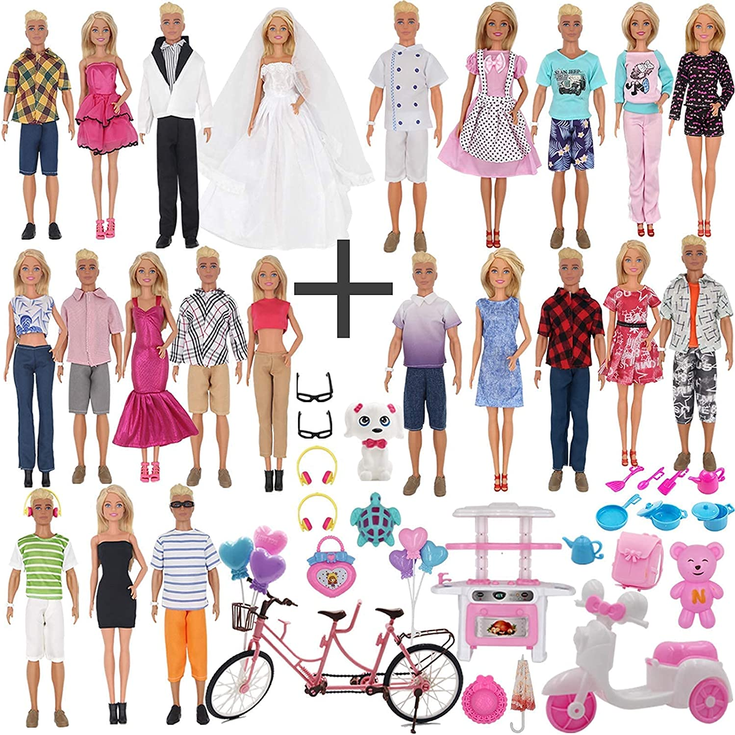 EuTengHao Doll Clothes Accessories for and Max 50% OFF Girl 12 Large-scale sale Inch Boy
