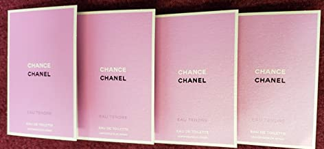 Lot of 4 C H A N E L Chance Eau Vive Eau De Toilette Spray Sample Size(.06 oz/2 ml each) …