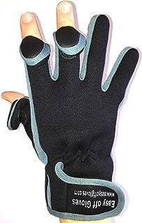 Easy Off Gloves Guantes de Neopreno (Punta de los Dedos