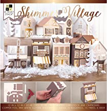 DCWVE Die Cuts with A View Project Stack Stack-12 x 12-Shimmer Village (33 pcs) PS-016-00051