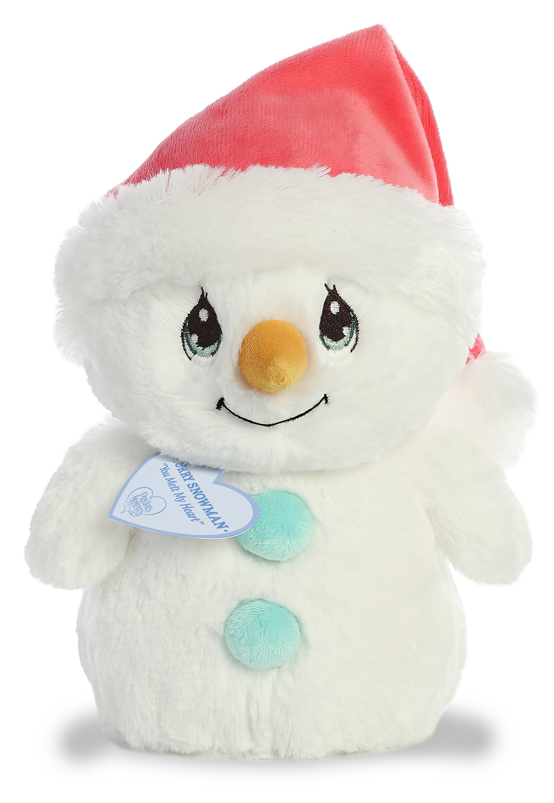 Image of Sweet Precious Moments Holiday Snowman Plush Toy