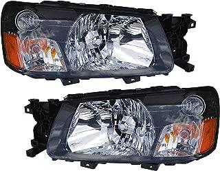 2004 subaru forester headlight