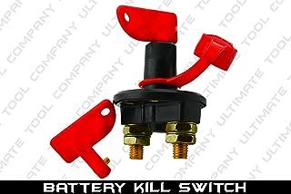 Battery Kill Switch Master Key Terminal 12V Motorcycle Boat ATV 2 Removable Keys